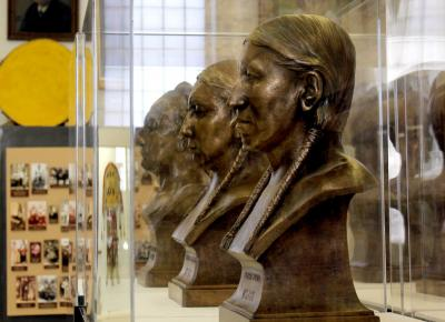 Historic bust of Fidelis Cole to be unveiled at Osage Tribal Museum