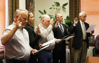 Board members for revitalized Osage Nation Enterprise and Osage LLC sworn in