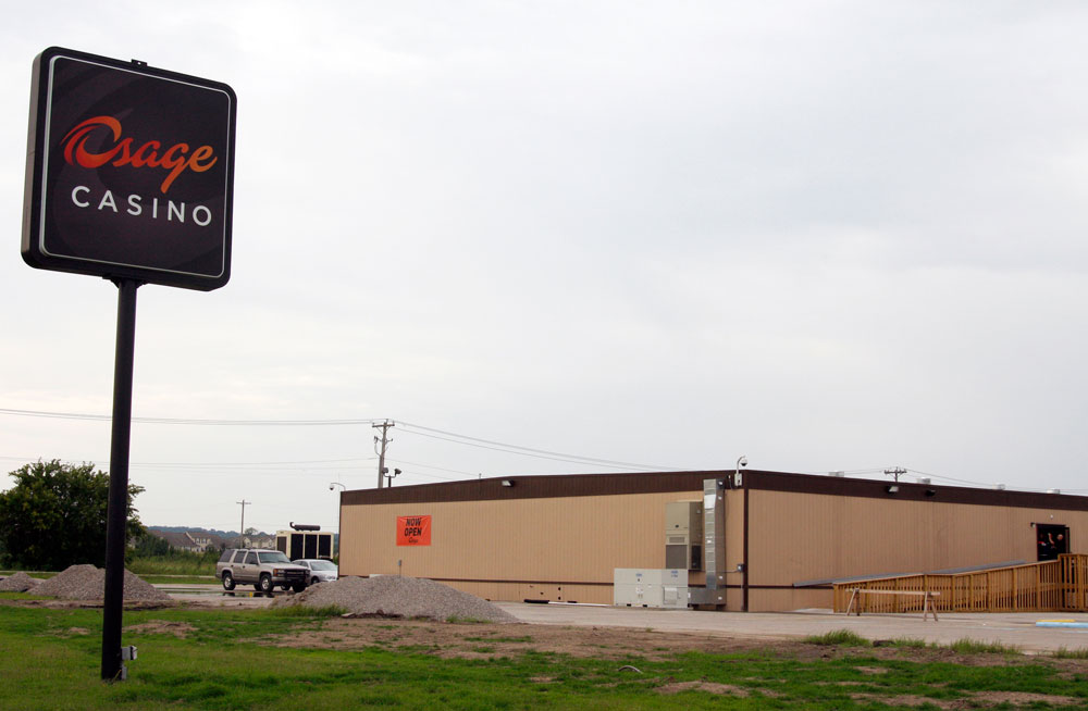 Pawhuska Osage Casino opens in newer trailers