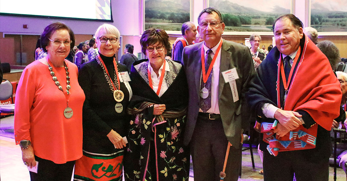 AARP Oklahoma honors five Osage elders at annual celebration