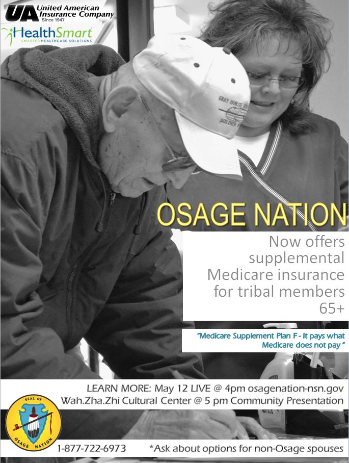 Osage Elders to receive supplemental Medicare coverage from Nation