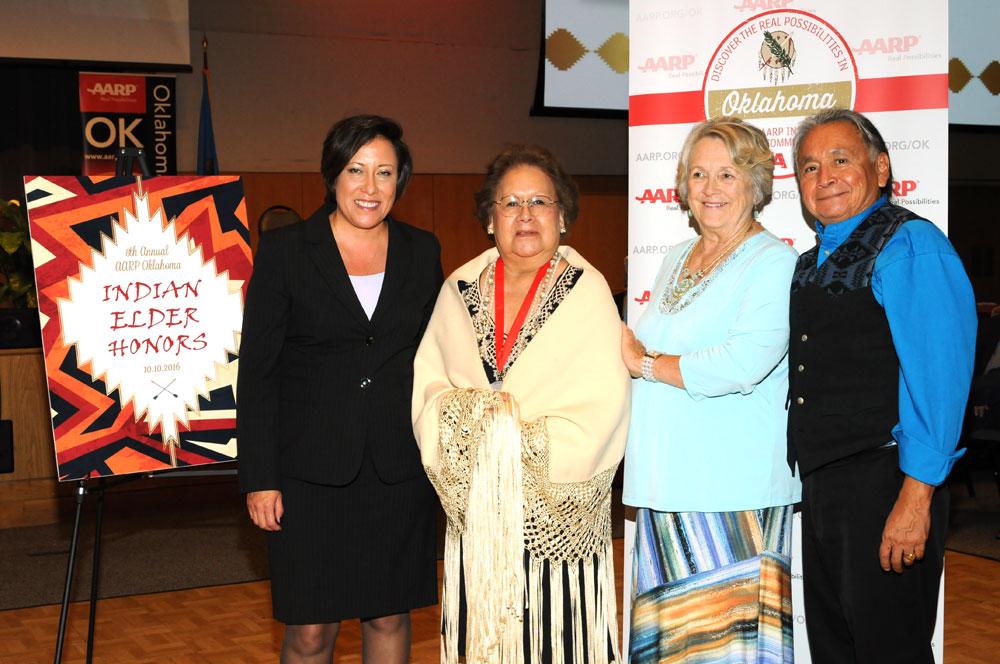 Five Osage elders honored at AARP's Indian Elder Honors