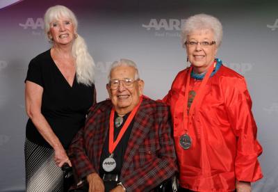 AARP Oklahoma recognizes Charles Lookout and Julia Wilson