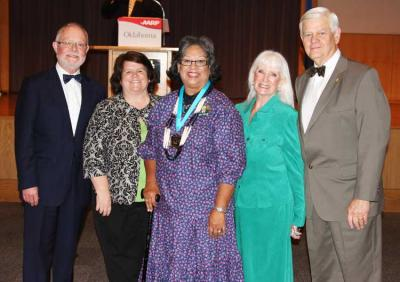 Two Osages honored at third annual Oklahoma Indian Elder awards