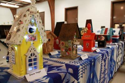 CASA Birdhouse Auction has low turnout