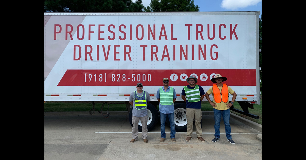 Osage Nation employees receive Commercial Driver's License certification