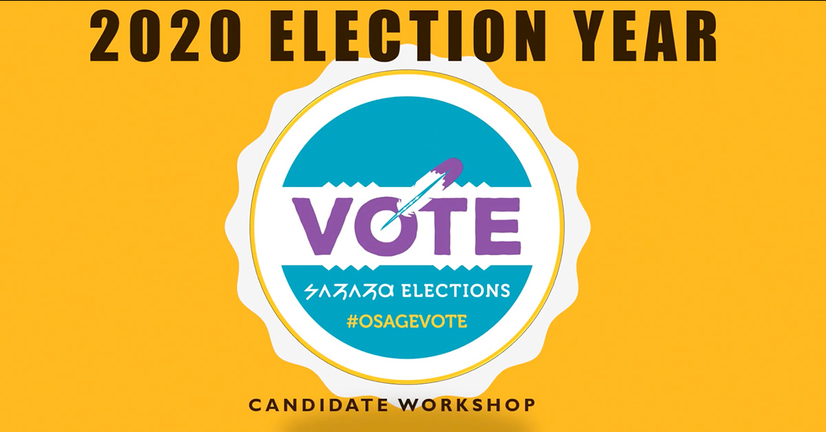 Election Office issues candidate workshop video presentation