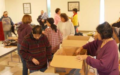 Osage women send relief to Pine Ridge Reservation