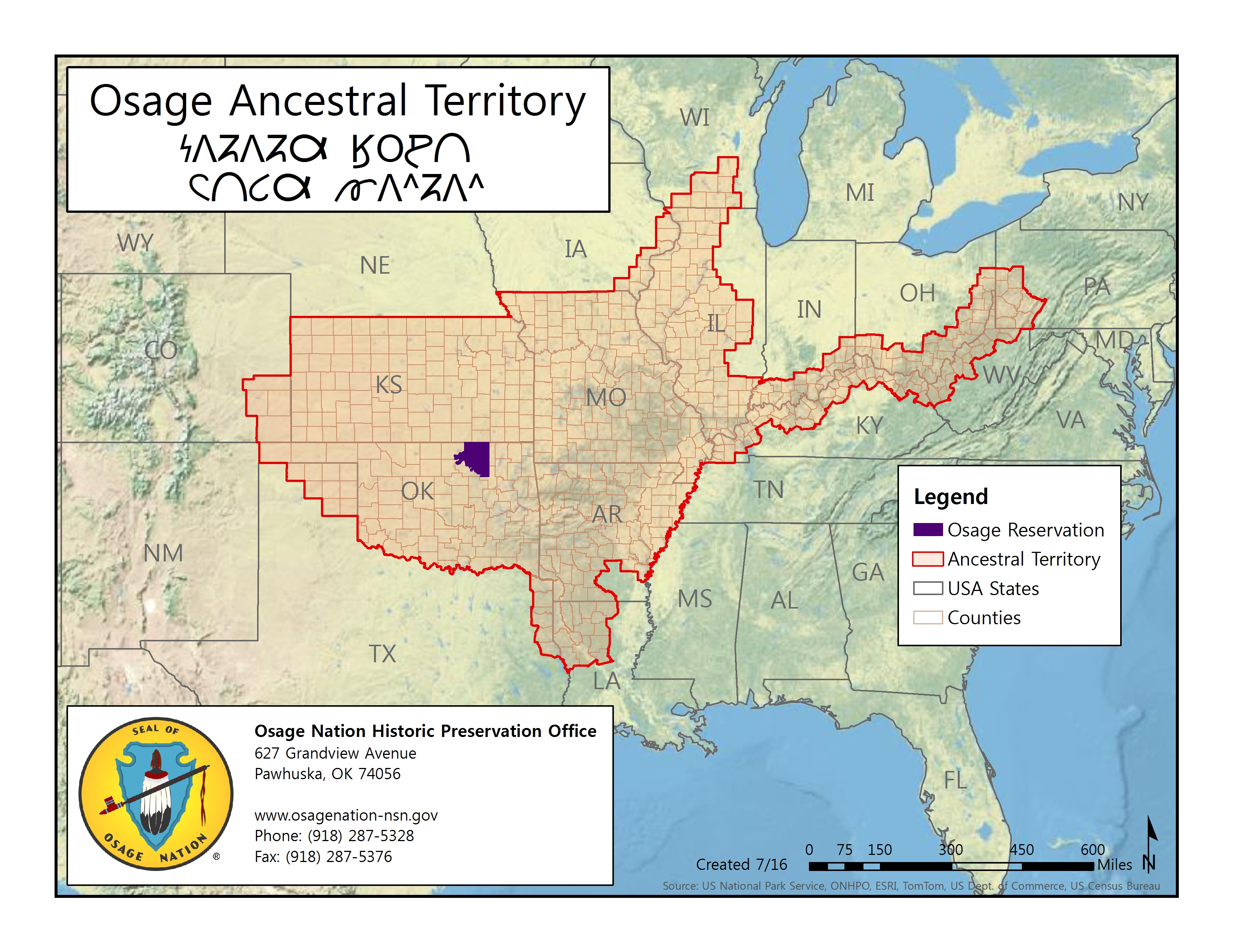 Missouri State Historic Preservation Office holding Osage remains despite Natl. NAGPRA Committee finding