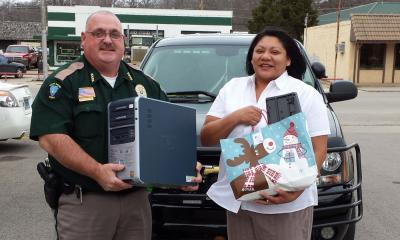 Five families in need receive computers this Christmas