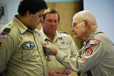 Osage teen earns Eagle Scout honor