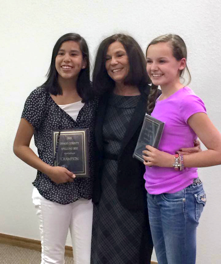 The word 'Courteous' won the Osage County Spelling Bee