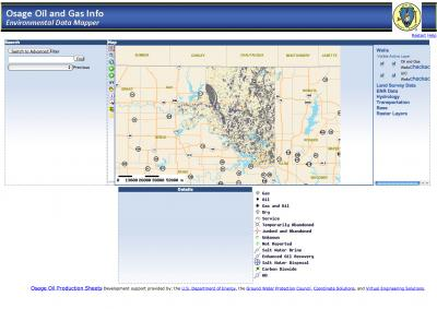 Interactive website brings technology to Osage oil