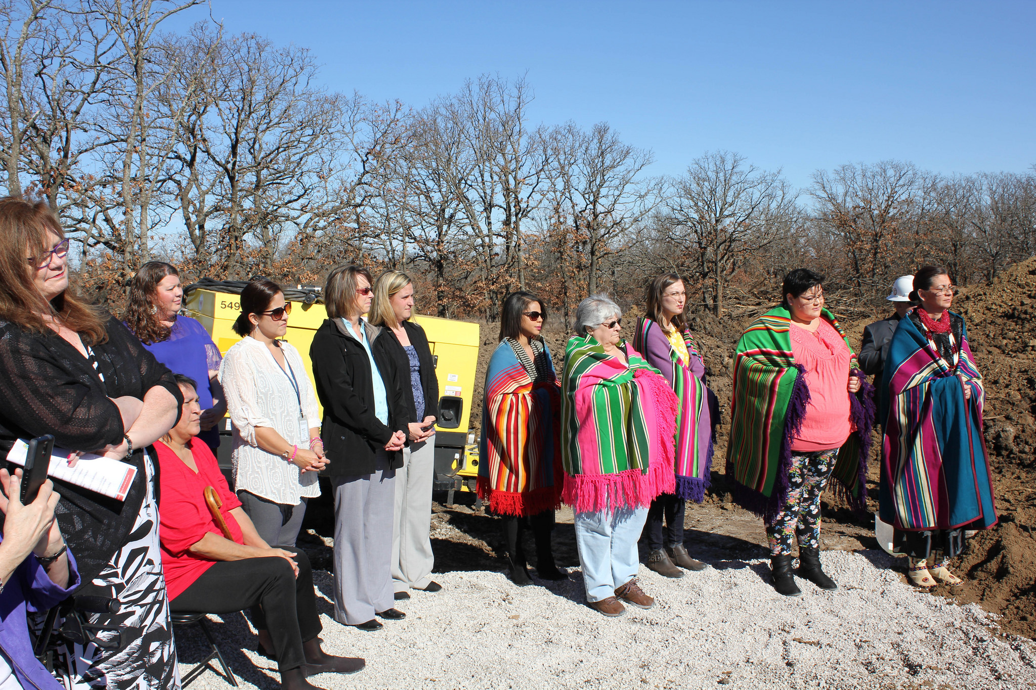 Osage Nation breaks ground on new women's domestic violence shelter