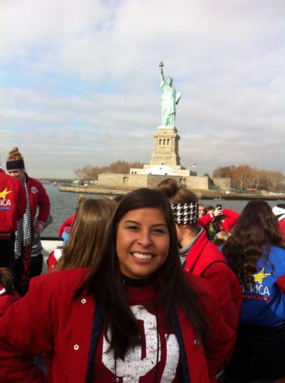 Osage performs in 86th Macy's Thanksgiving Day Parade