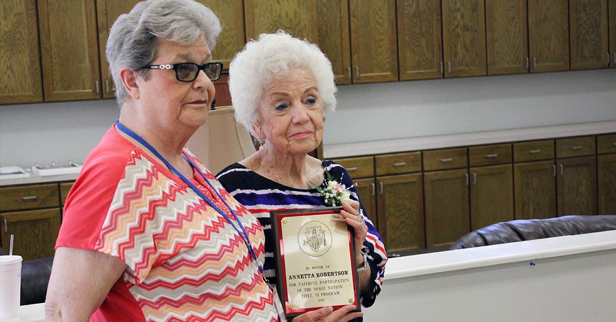 Elder Nutrition program celebrates 2019 Older Americans Month