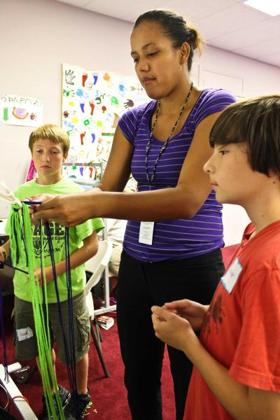 Osage youth get Osage-focused education at Enrichment Camp