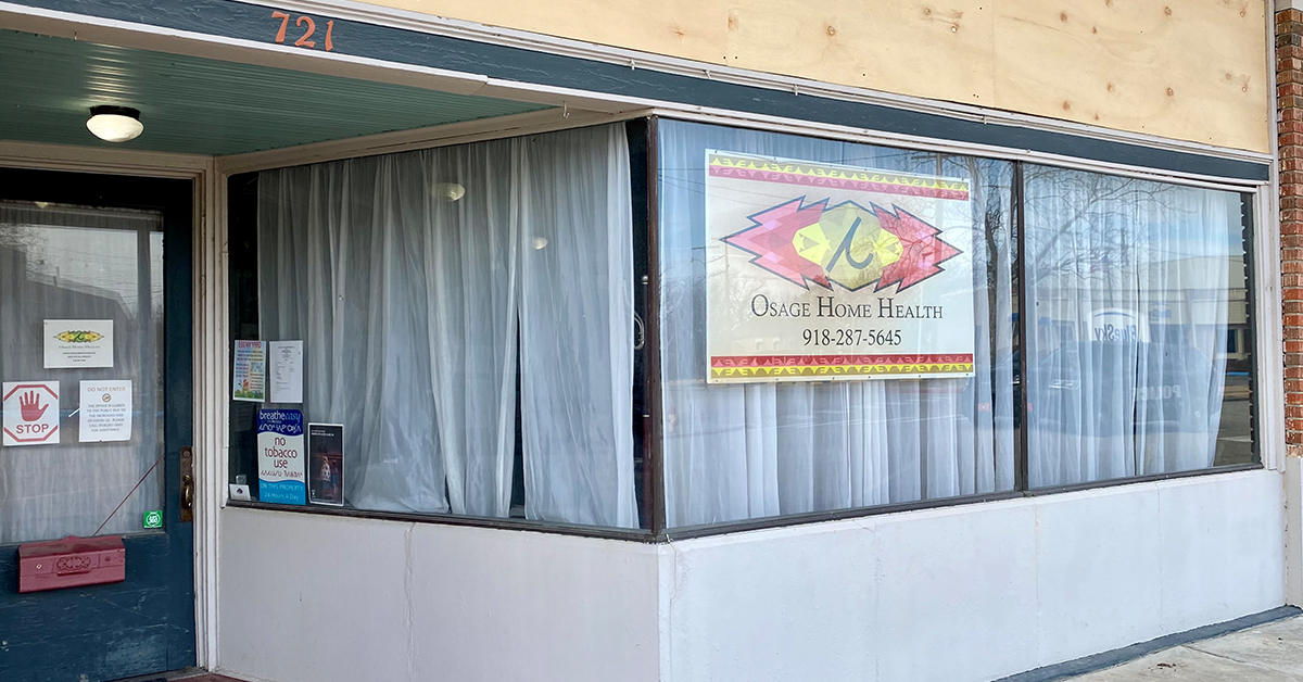 Osage Home Health relocates to ON Civic Center after eviction