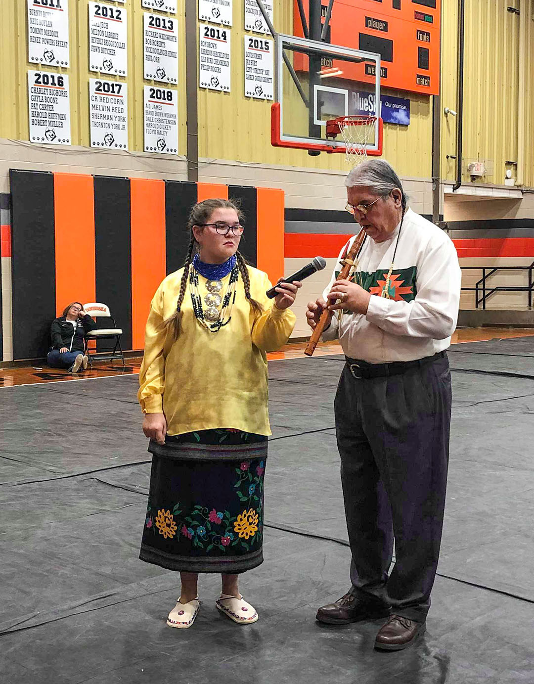 Pawhuska JOM hosts Indigenous American Day for Pawhuska Public Schools