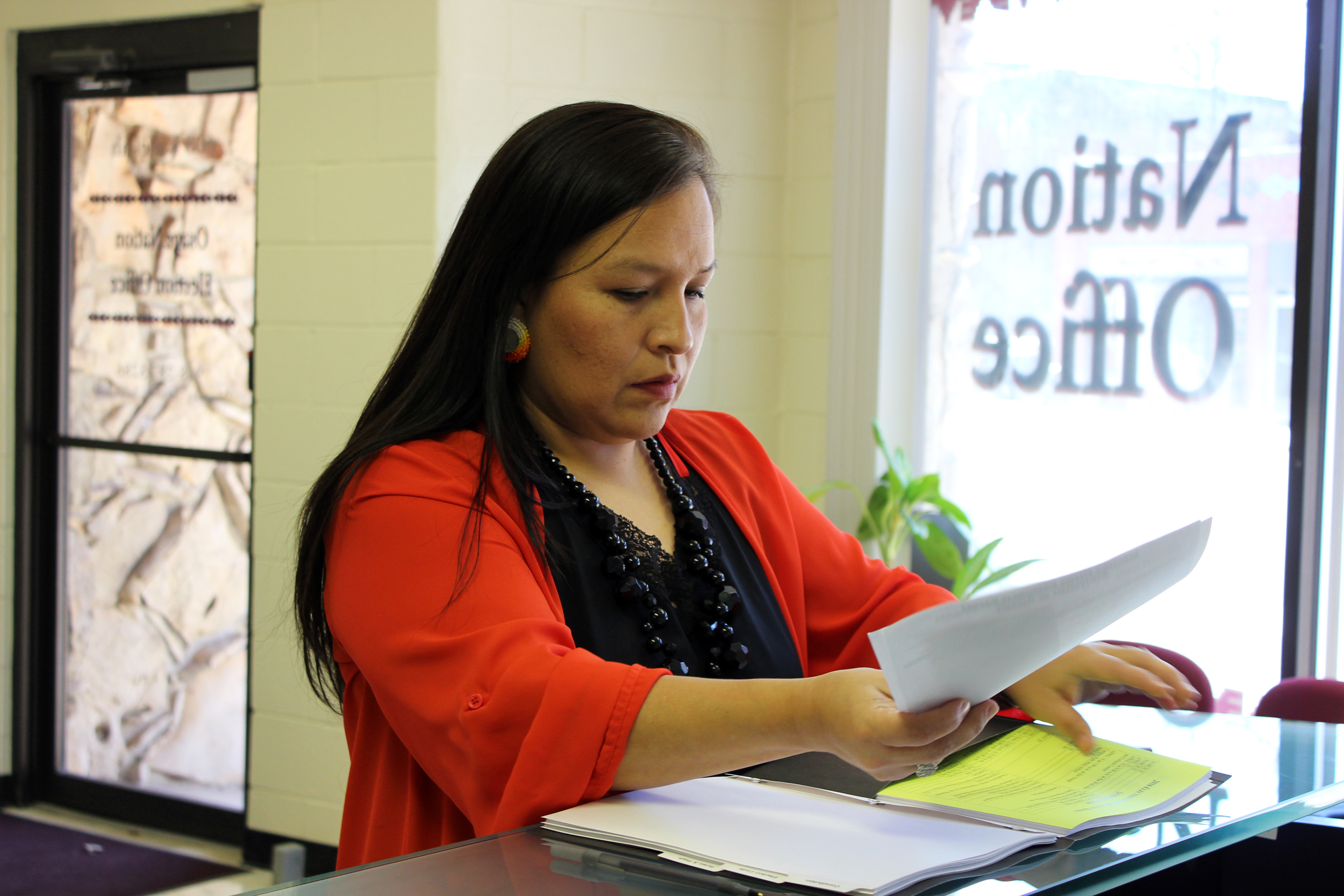 W. Jacque Jones is second tribal member to file candidacy