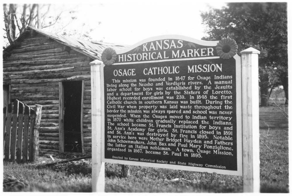 Osage Congress votes down appropriation for preservation of Jesuit archives of Osage Mission Collection