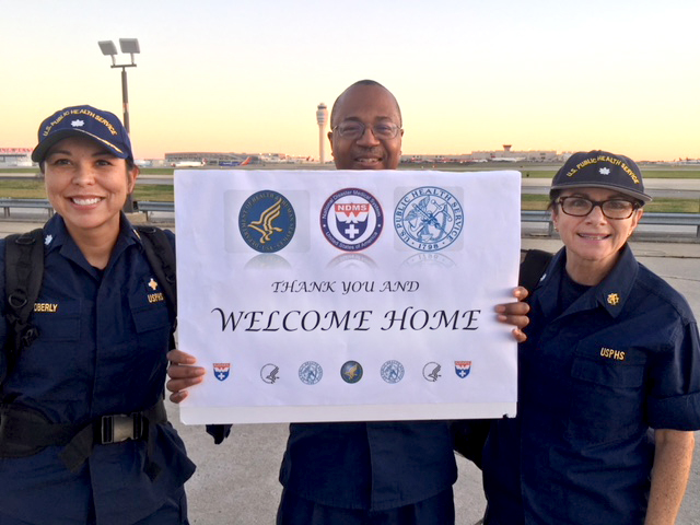 Local Public Health Service officers deployed to Puerto Rico after Hurricane Maria