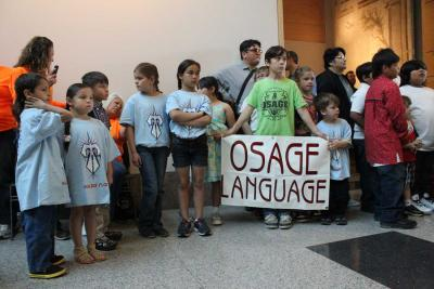 Osage youth show off their skills at annual Language Fair