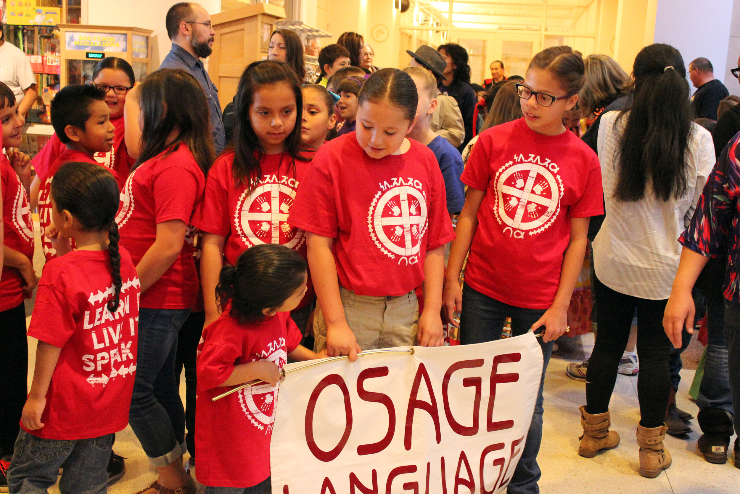Osage youth participate in Native American Youth Language Fair