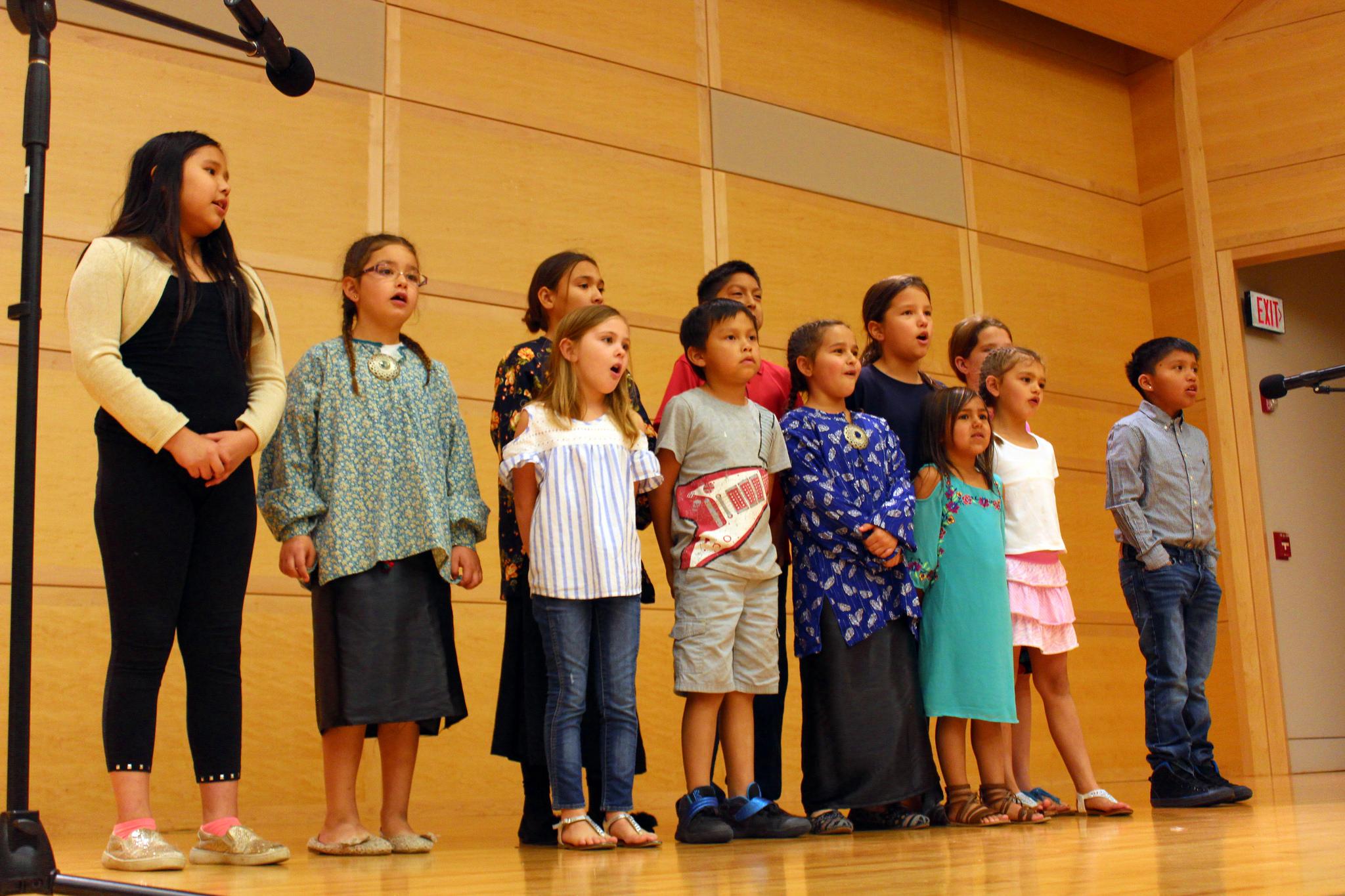 Osage language represented at 2017 Native American Youth Language Fair