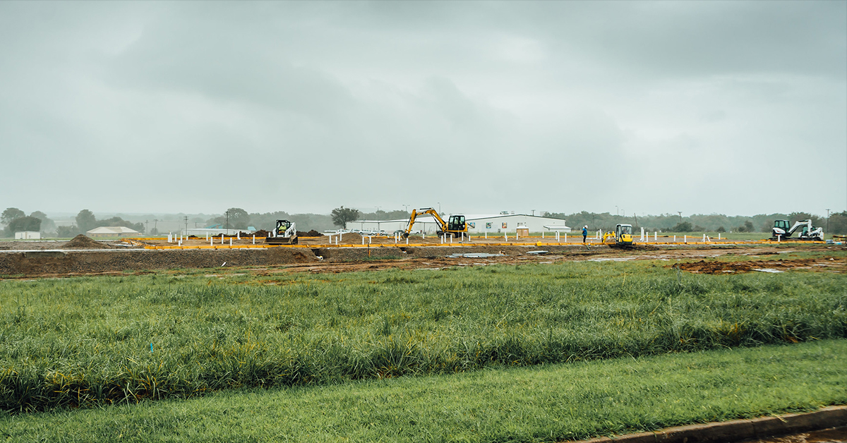 Construction continues on Nation's first-ever meat processing facility