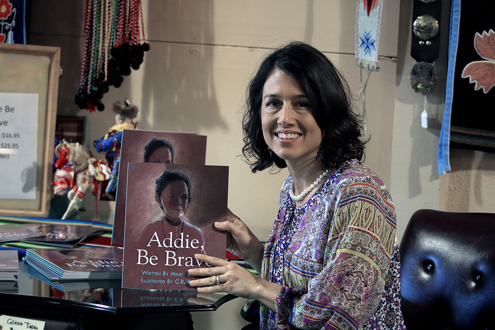 Osage author publishes second children's book, 'Addie, Be Brave'