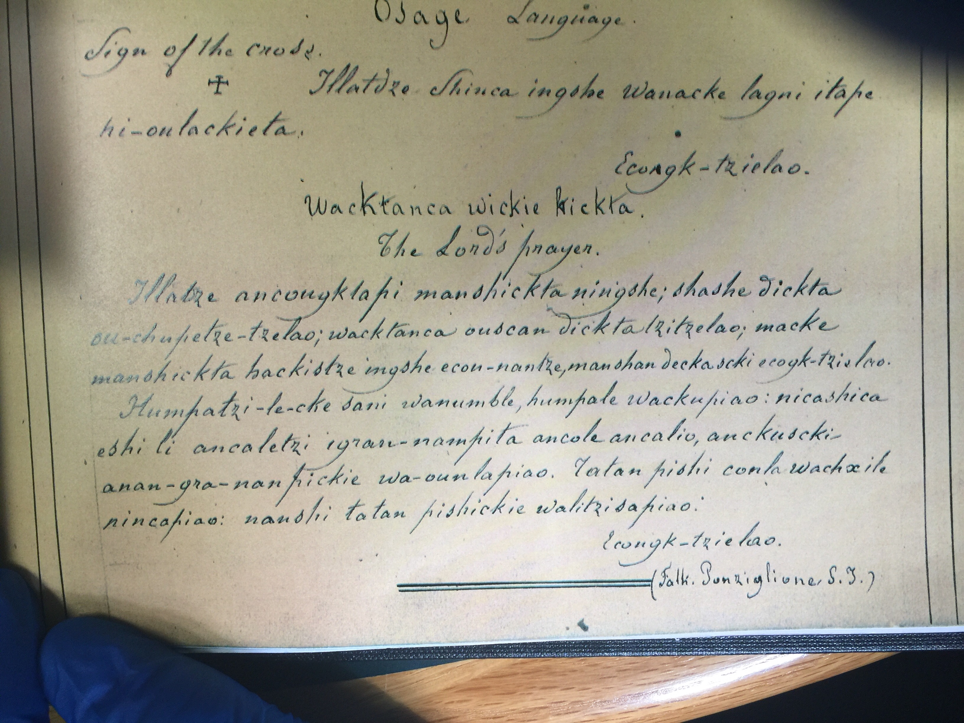 Osage Nation to preserve historic documents at Jesuit archives in St. Louis