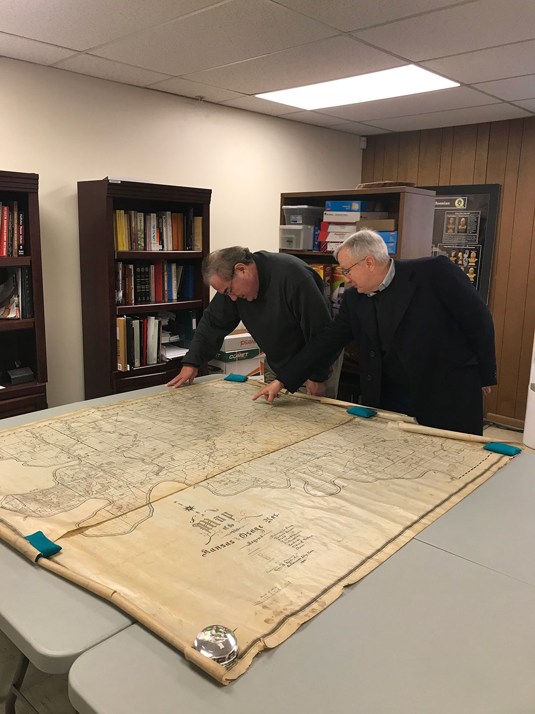 Osage Nation Museum acquires map dating back to 1900