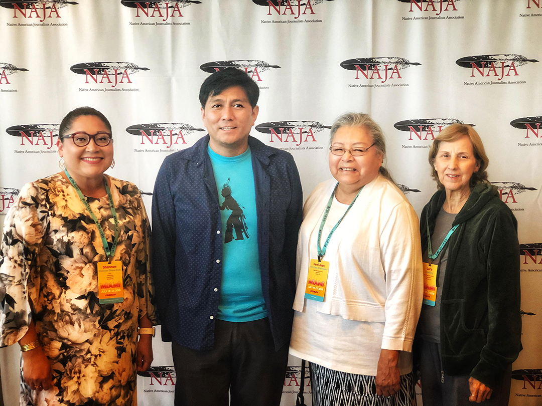 NAJA awards Osage News with three awards at 2018 conference
