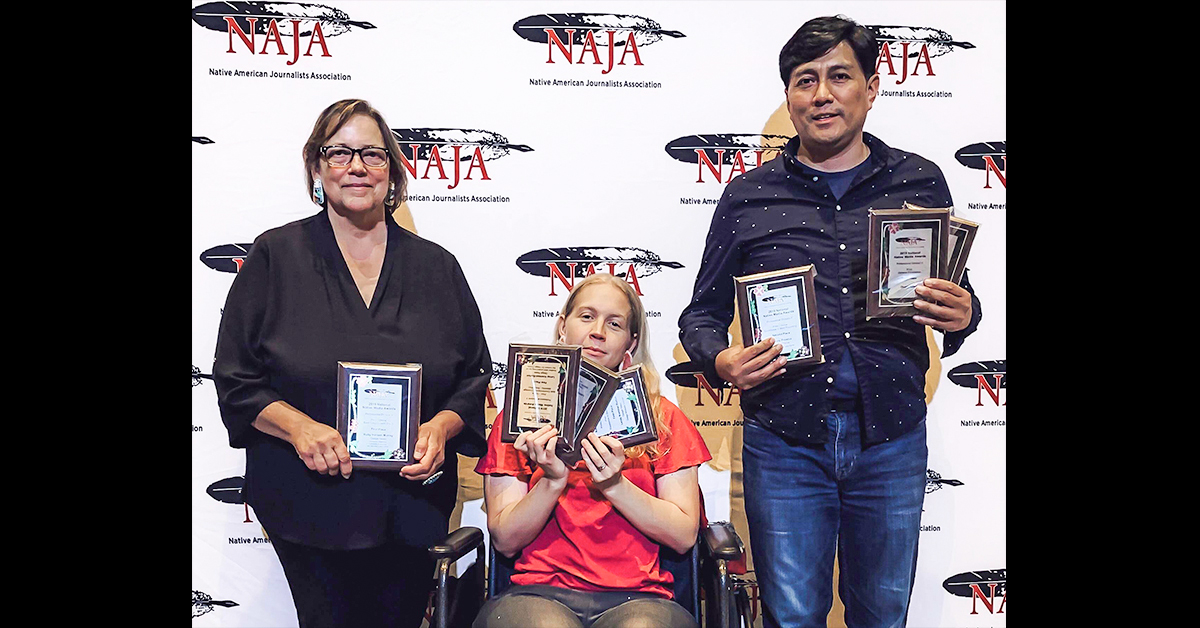 Native American Journalists Association awards Osage News with 12 awards for 2018 coverage