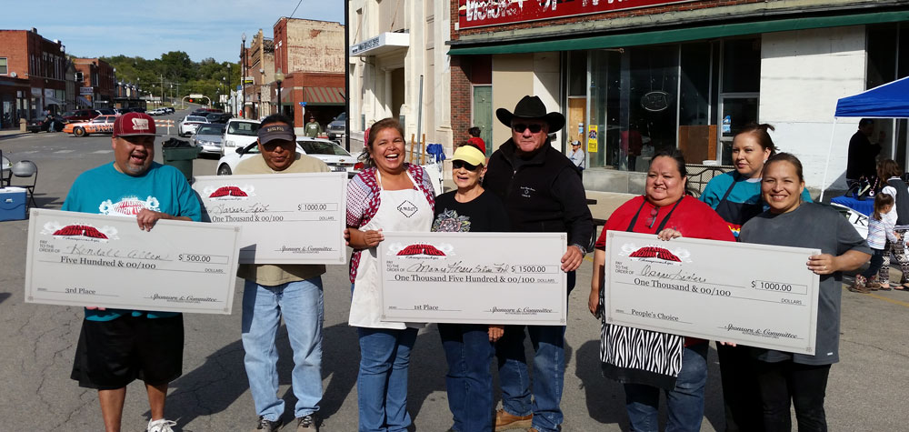 Osages win first, People's Choice awards at National Indian Taco Championship