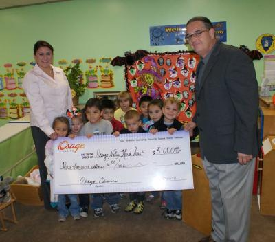 Osage Nation Head Start program receives assistance for winter coats