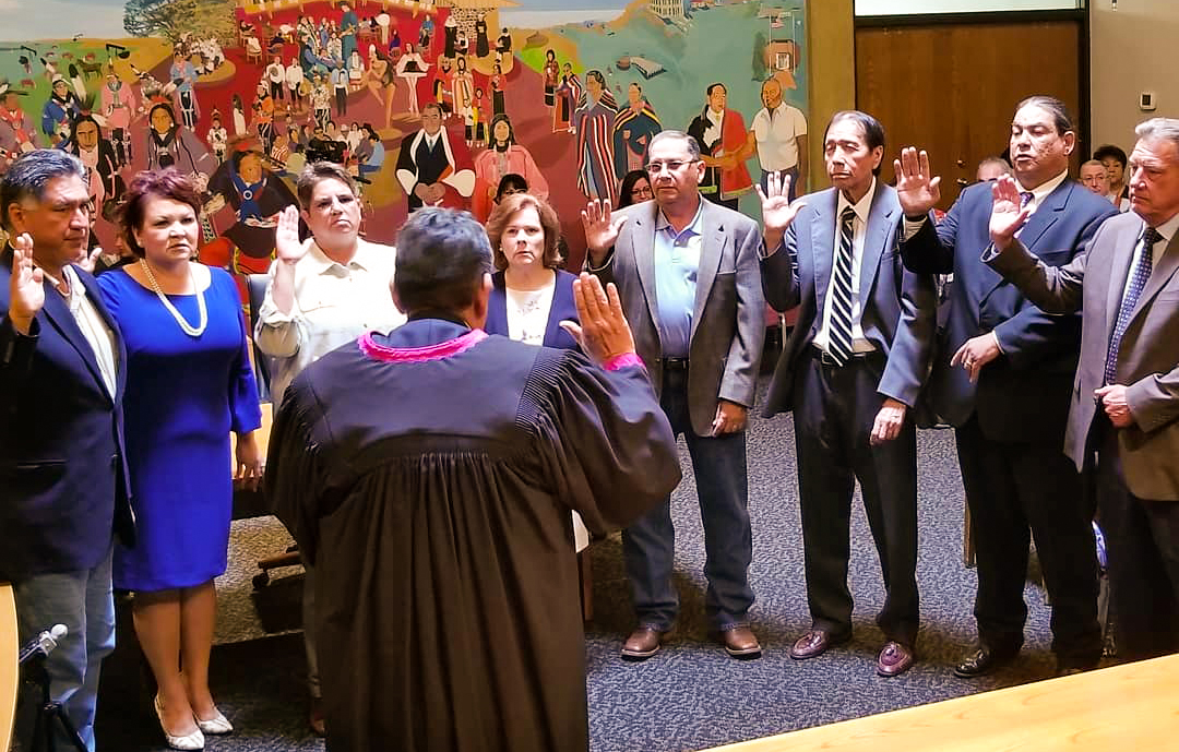 Fourth Osage Minerals Council takes their oaths of office