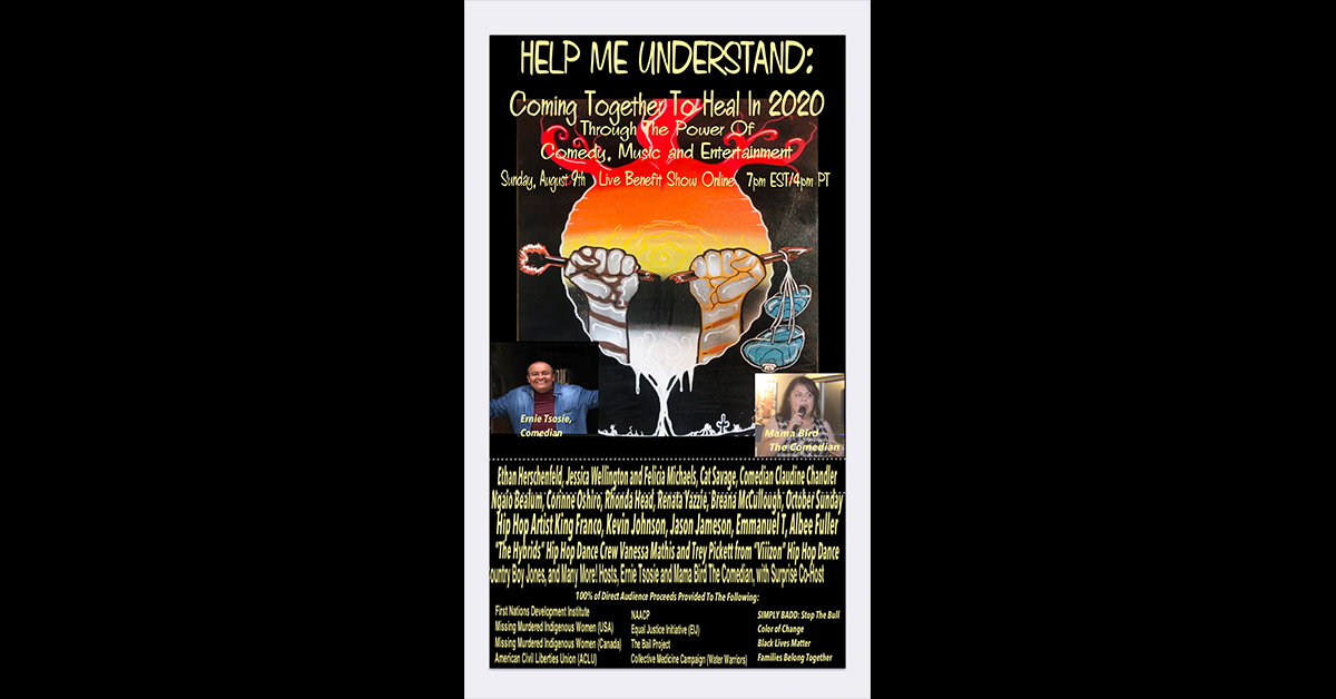 'Help Me Understand' virtual benefit show scheduled Aug. 9, organizers include Osage woman