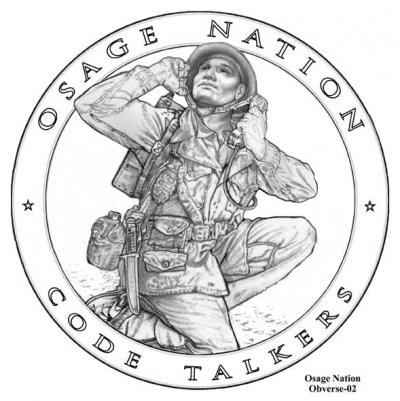 Osages included in second set of code talker coins reviewed by CFA
