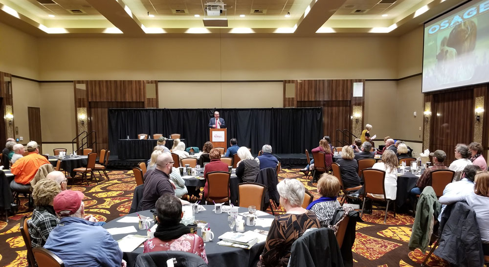 Osage Nation history promoted during county tourism forum