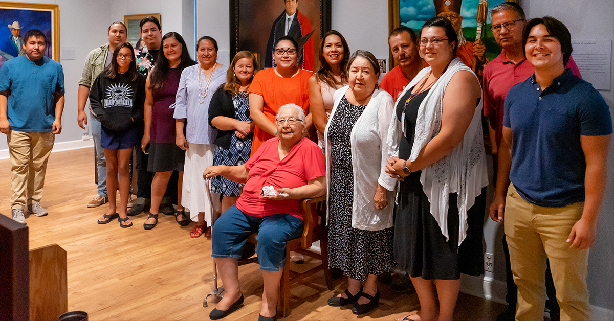 Pauline Allred retires from Osage Nation after more than 25 years