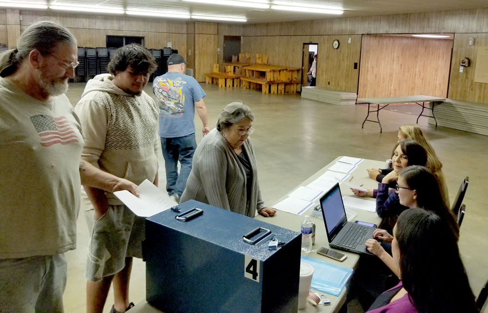 Four Pawhuska Village Committee members re-elected, one new member elected