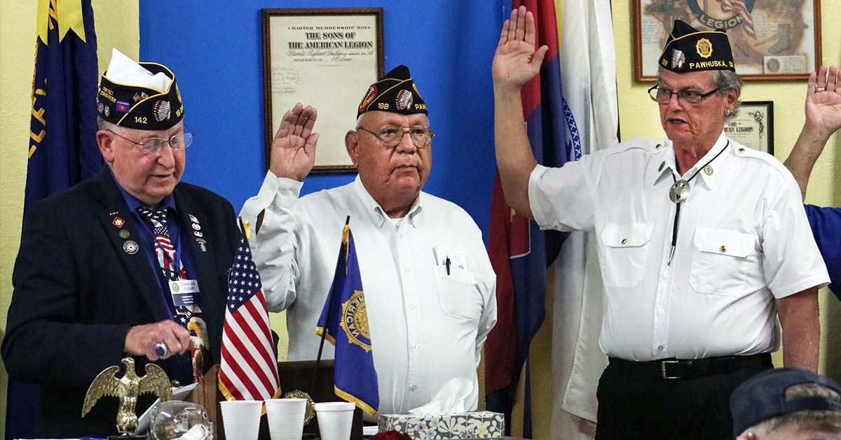 Osages elected as American Legion Post 198 leadership