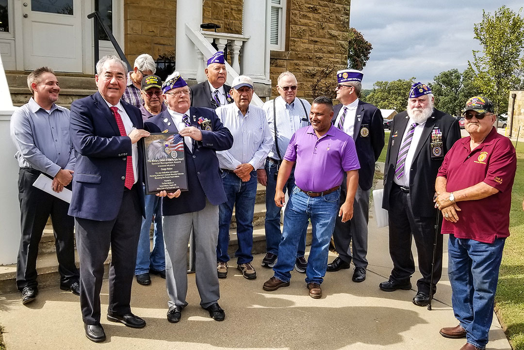 Osage Nation designated as a Purple Heart Community