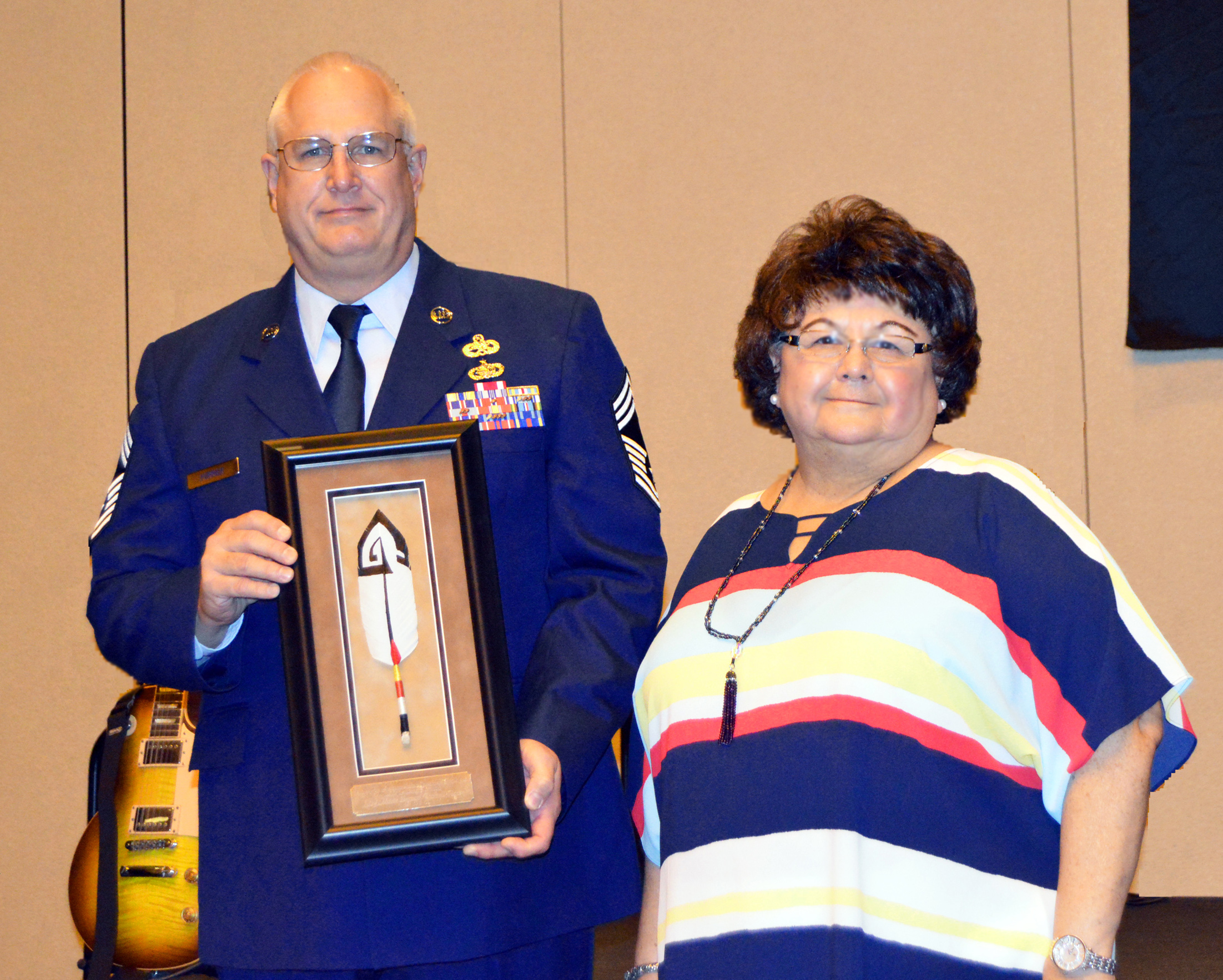 Osage honored by Society of American Indian Government Employees