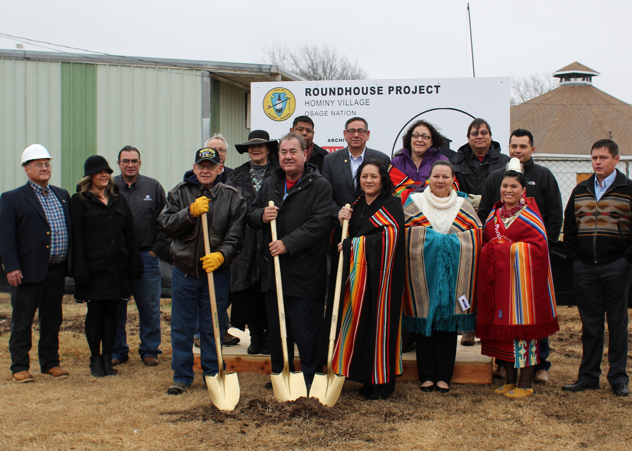 Construction begins on restoration of historic Hominy Roundhouse