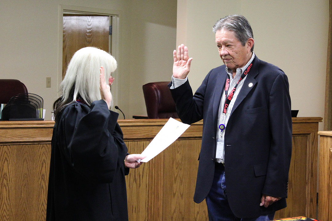 Samuel Alexander reappointed Osage Nation Treasurer