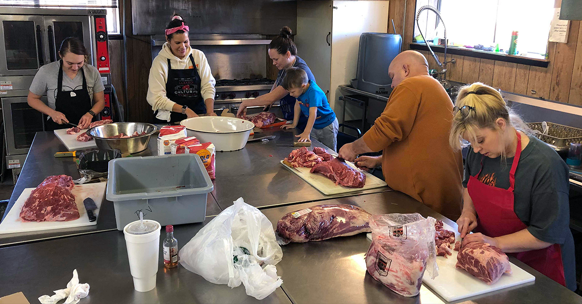Shared Blessings Meal gives parents and grandparents insight into Osage cooking