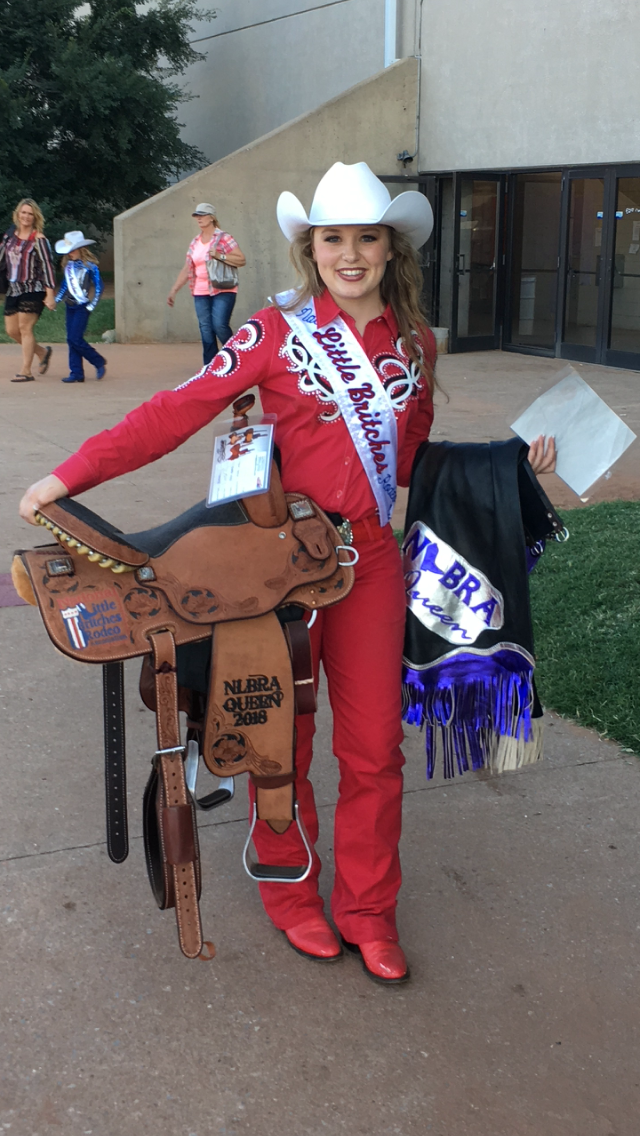 Osage youth wins National Little Britches Rodeo Association Queen